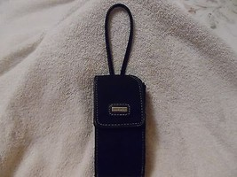 Handy Nine West Black Wristlet Purse Phone Holder Glasses Id Coins Carrier Case  - $7.91