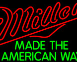 Miller made the american way neon sign 24  x 24  thumb155 crop