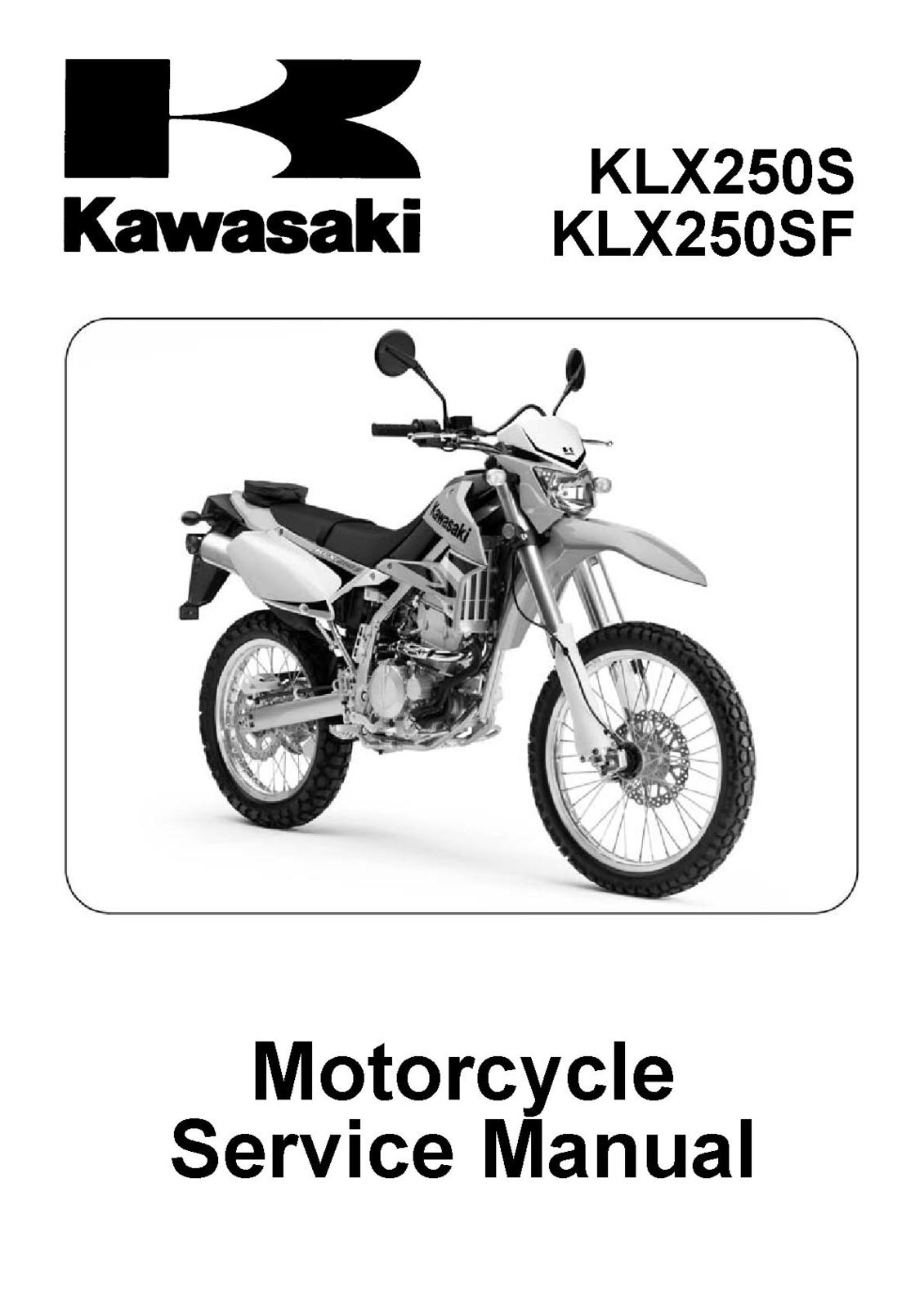 kawasaki klx250s klx250sf klx 250 s sf 250s and 44 similar items rh bonanza  com 2016 Kawasaki KLX 250 2004 kawasaki klr 250 service manual