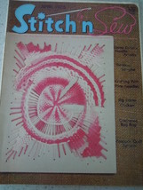 Stich'n Sew Craft Magazine 1975 - $3.99