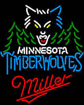 Miller NBA Minnesota Timberwolves Neon Sign - $699.00