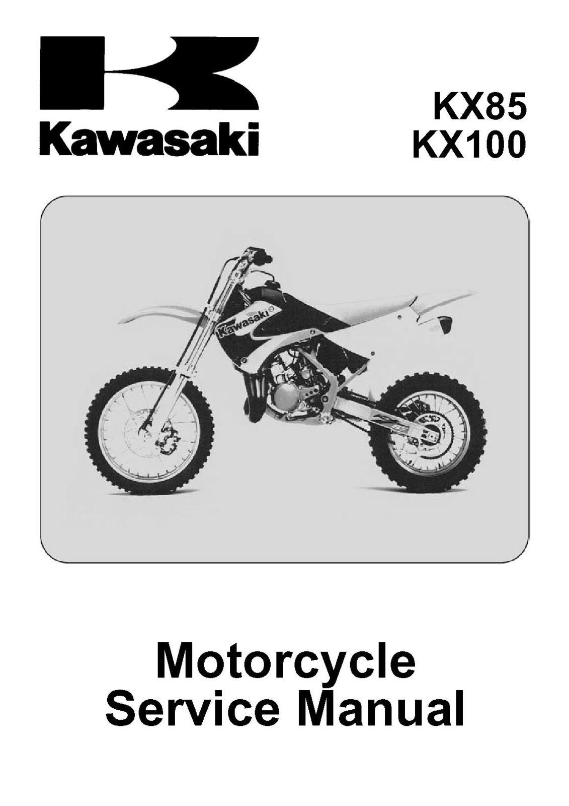 Kawasaki Kx 85 User Manual