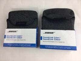 Two Bose SoundLink Color Speaker Carry Case Gray  *New* 730088-0010 - $20.54