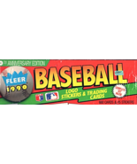 Fleer 1990 Baseball Trading Cards & Logo Stickers (660 Cards & 45 Sticke... - $18.90