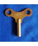 New Old Stock Brass Finish Clock Key 4.0 mm No. 7 - $6.00