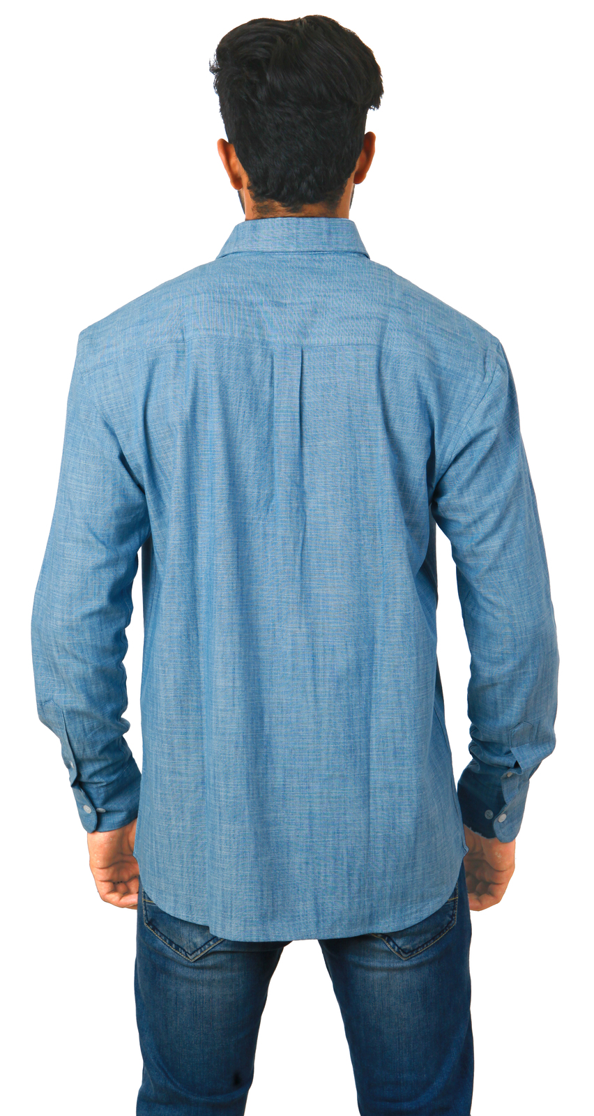 Port & Company SP10 Men Long Sleeve Value Denim Shirt Dress Shirt Upload your design or enter text and set project details. We'll review your design, make any repairs and send a proof (all for FREE).
