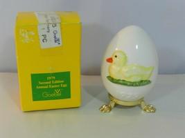 Vintage GOEBEL 1979 Annual Easter Egg 2nd Edition Original Box - $24.99