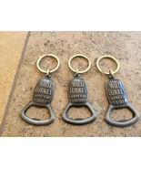 Wild Turkey Spiced Whiskey Key Chain Bottle Opener Lot of 3 Brand New! - $12.86