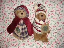 Boyds Bears Bailey And Edmund Fall 1994 Plush Bears - $31.99