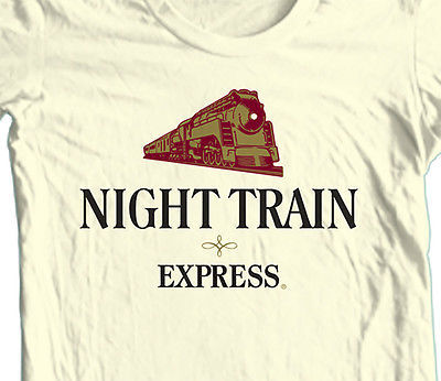 Night Train Wine T-shirt Mad Dog 20/20 Bum Wine 100% cotton graphic tee