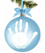 Tiny Ideas Baby's Handprint Ornament, Ball - $19.77