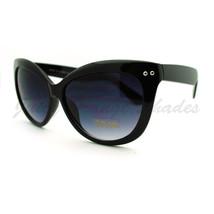 High Fashion Sunglasses Womens Oversized Butterfly Cateye Frame - $7.95
