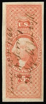 R91a, $5 Mortgage Revenue Stamp - SUPERB & Sound Cat $200.00 - Stuart Katz - $180.00