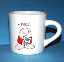 "Vintage ZIGGY ""ME"" w/ Puppy COFFEE CUP American Greetings Stoneware Mug ... - $9.49"