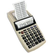 Palm-Sized Printing Calculator with Adaptor - T... - $49.98