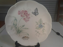 "Lenox Butterfly Meadow, Eastern Tailed Blue, Dinner Plate 10.75"" Diam. NWT - $5.95"