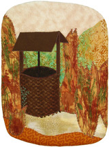 The Well: Quilted Art Wall Hanging - $315.00