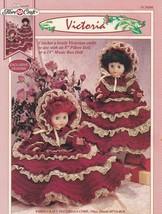 Victoria, Fibre Craft Victorian Doll Clothes Crochet Pattern Booklet FCM408 - $4.95