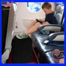 Inflatable Travel Footrest Rest Pillow Leg Foot cusion Portable Pad Kids... - €25,91 EUR