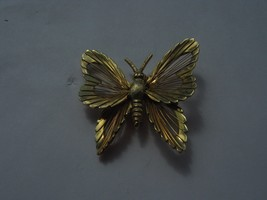 MARKED MONET GOLD COLOR BUTTERFLY PIN - $10.88