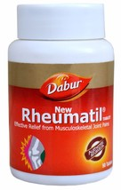 Dabur Rheumatil , Relief From Musculoskeletal & Joint Pains, 90 Tablets ... - $8.25