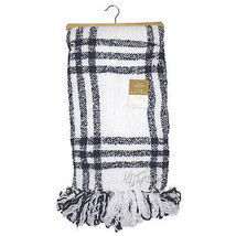 NWT Berkshire Luxe Boutique Blanket Yarn Dye Polychenille Throw Soft War... - $49.99