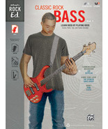 Classic Rock Bass Book w/CD/New - $12.99