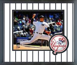 Masahiro Tanaka 2016 New York Yankees - 11 x 14 Team Logo Matted/Framed Photo - $42.95