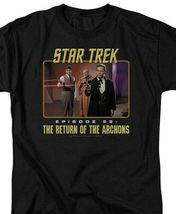 Star Trek T-shirt Episode 22 Return of the Archons Sc1-Fi TV graphic tee CBS388 image 3
