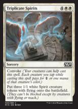 Magic The Gathering-Magic 2015 Core Set-Triplicate Spirits - $0.09