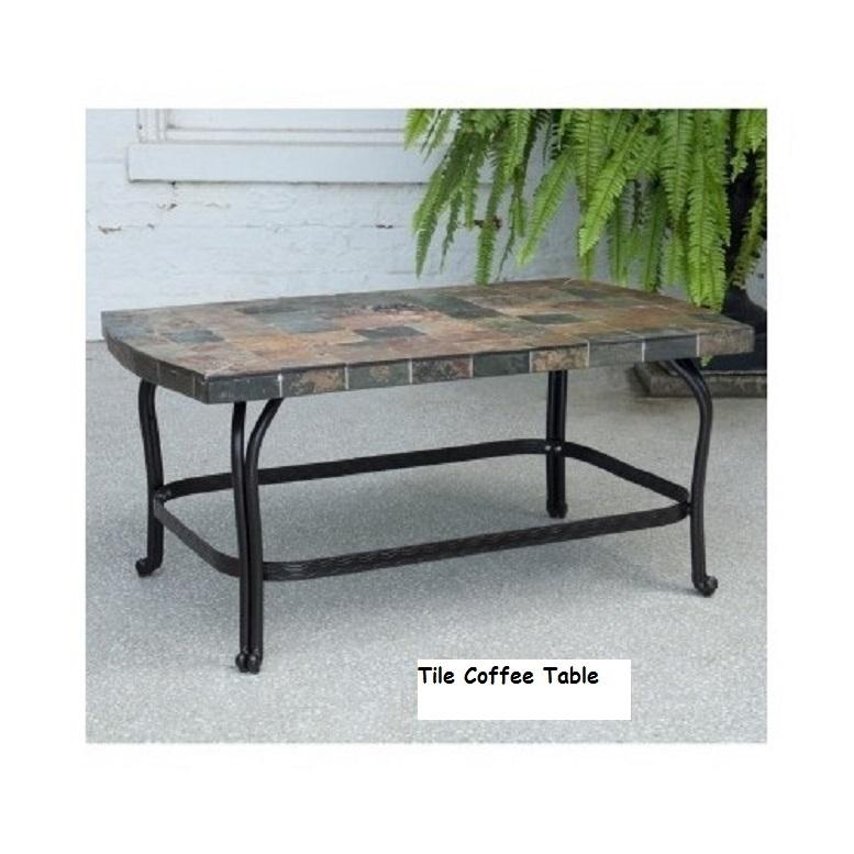 6 Piece Steel Patio Conversation Set Cushion Loveseat Chair Ottoman Coffee Table image 9