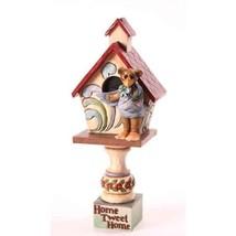 Jim Shore Boyd's Bear Bernie Birdhouse Home Twe... - $31.79