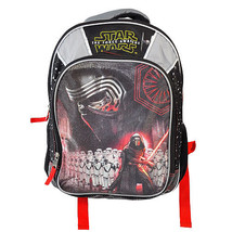 Star Wars The Force Awakens Kylo Ren Backpack Grey School Bag Free Shipp... - $22.95