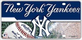 New York Yankees  License Plate Sign - $19.33