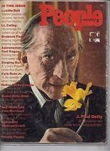 People Magazine J. Paul Getty March 18, 1974 - $34.64