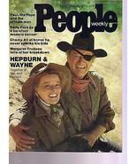 People Magazine Hepburn & Wayne  November 18, 1974 - $14.80