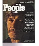 People Magazine Charles Bronson August 19, 1974 - $14.80