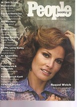 People Magazine Raquel Welch March 25, 1974 - $24.74