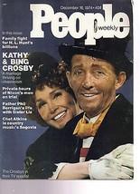 People Magazine Kathy & Bing Crosby December 16, 1974 - $14.80