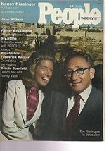 People Magazine Nancy Kissinger June 10, 1974 - $14.80