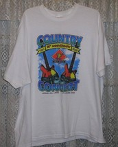 BRAD PAISLEY CONCERT T SHIRT 2005 COUNTRY CONCERT FT. LARAMIE OHIO CHELY... - $74.99