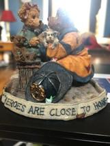 """""""Chief Buckley w/Jennifer...To the Rescue"""" Boyds Bears Bearstone Figurine - $11.30"""