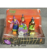 Lemax Spooky Town Potion Time Witch Graveyard Black Cat Table Accent in ... - $15.99