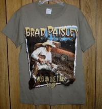 Brad Paisley Concert Tour T Shirt 2003 Mud On The Tires - $64.99
