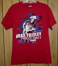 Brad Paisley Concert Tour T Shirt Paisley Party Tour - $49.99