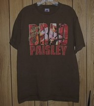 Brad Paisley Concert Tour T Shirt Bonfires & Amplifiers - $64.99