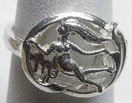 Wow Virgo Silver Zodiac Astrology Horoscope ring Jewelry - $19.13