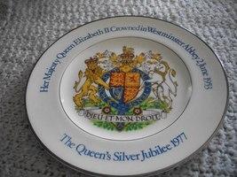 The Queen's Silver Jubliee 1977 Souvenir Plate - £18.53 GBP