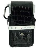 L-Style Krystal Colors Dart Case - Croc Black Darts Rings Flights Dart S... - $42.00