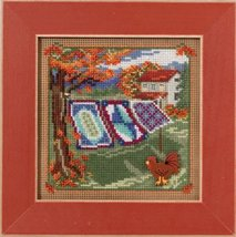 Country Quilts Autumn Harvest Mill Hill 2016 Button and Bead kit Mill Hill  - $12.60